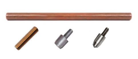 Pure Copper Earth Rod and Accessories
